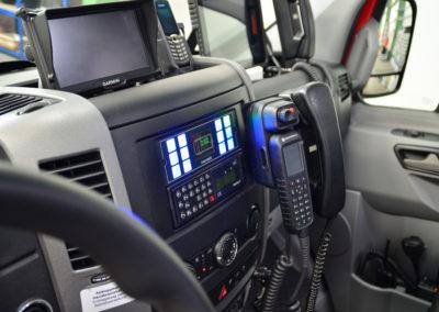 ELW1-Fahrerraum
