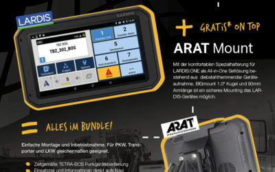 LARDIS:ONE-Aktion inkl. Gratis ARAT All-in-one Set