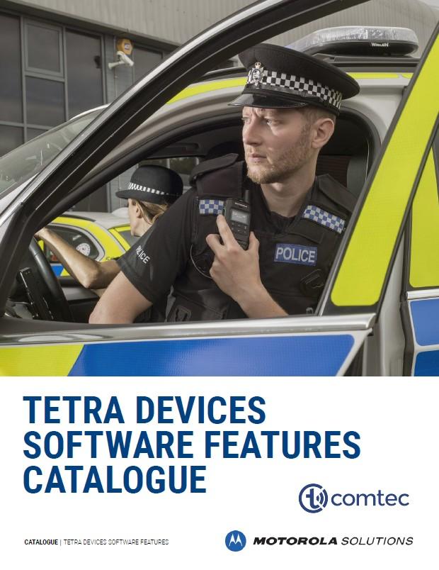 Software Features Übersicht von Tetra-Geräten