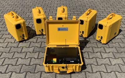 6 mobile Einsatzkoffer MFK CO-800 für die Berufsfeuerwehr Dortmund