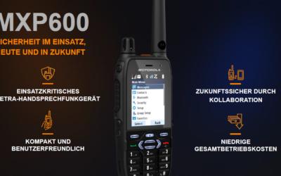 Vorstellung des neuen Motorola Funkgerät MXP600
