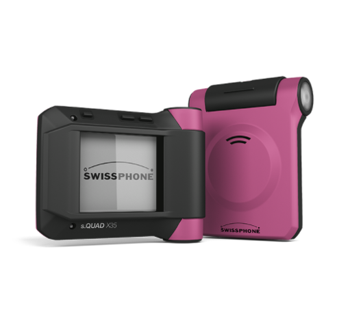 #togetherstrong Swissphone s.QUAD in PINK
